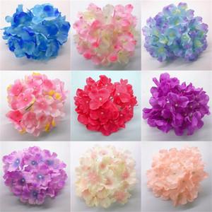 Multicolor Secado de flores de seda flores artificiales plásticos Manos Hortensia exquisita y única Inicio Decoraciones de la venta caliente 0 5 ml E2