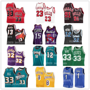 23 Michael Maillots Allen Iverson 3 Ja 12 Morant Jonathan 1 Isaac Shaquille O'Neal 32 Tracy Vince Carter 15 McGrady Steve Nash 13