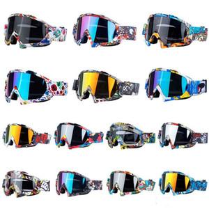 التزلج الرجال النساء المضادة للضباب نظارات ركوب الدراجات الشتاء نظارات المضادة للأشعة فوق البنفسجية على الجليد الثلج في الهواء الطلق التزلج صامد للريح نظارات