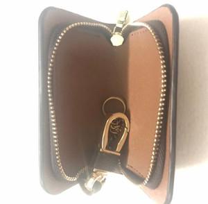 Cuoio KEY HOLDER Portafoglio Fashion Designer ENVELOPPE CARTE unisex chiave dell'automobile della cassa del sacchetto di lusso Porta Pocket Pochette Accessori Cles carta