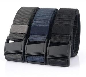 2020 Cintura nuovi uomini Tactical Rigger di nylon esterna regolabile Quick Release Rettangolo Buckle Military Airsoft cinturino della cinghia