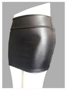 High-waisted hip-covered leather High running bag dress skirt large-size zipper leather skirt quick-sale women's dress