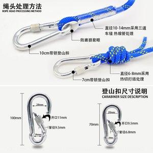 exterior hu wai sheng corda resistente ao desgaste escalada vida Salvamento corda de escalada