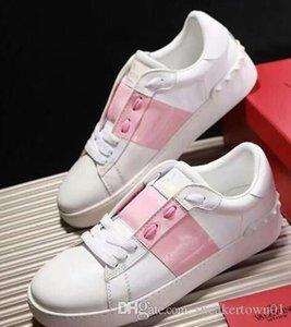 Europa Moda Sneaker Rahatlık Casual Ayakkabı Spor Sneakers Chaussures Decontractees Tasarımcı Bayan Kaykay Eğitmenler ücretsiz gönderim