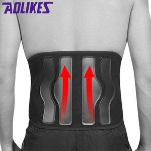 Supporto Cintura Uomini Donne lombare magnetico del gancio posteriore della cinghia ortopedico Tourmaline Self-riscaldamento magnetico Steel Plates Vita