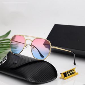 Hexagonal Sunglasses Fashion man&woman Sunglass Ray Sunglasses Ben Sunglasses UV400 Protection Top Quality 3609