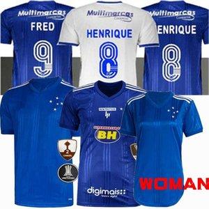 2020 2021 كروزيرو EC لكرة القدم الفانيلة كروزيرو FRED DODO تياجو نيفيز HENRIQUE 20 21 رجلا كرة القدم والنساء والأطفال قميص