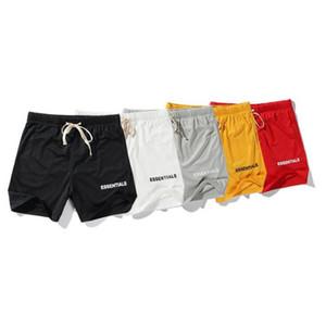 venda quente FOG FEAR OF GOD Essentials Men Short Praia Jumpsuit Harem Spandex malha gota Crotch Verão Shorts Basquetebol