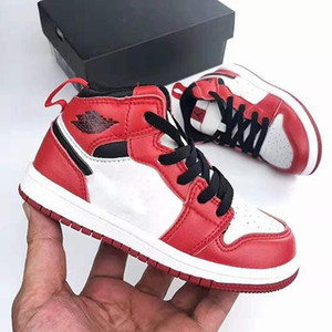 High OG 1 1s Youth Kids Sneaker PreSchool Signed Basketball Shoes Chicago New Born Baby Infant Toddler Trainers Small Big Boys