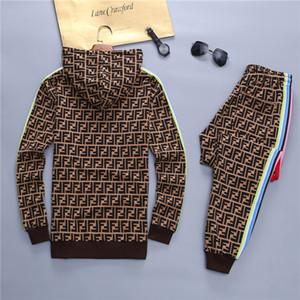 Men's fall winter sportswear Paris fashion designer coat and pants 2 piece suit Men's high quality comfortable sportswear Asian size
