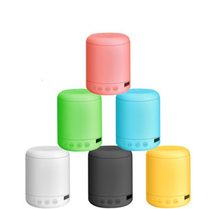 portable Bluetooth Speaker Wireless Macarone Mini Bluetooth small sound box small steel gun TF card for iPhone