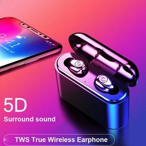 Fabbrica diretta di vendita calda transfrontaliera X8S senza fili Bluetooth 5.0 binaurale tws Bluetooth auricolare X8 auricolare