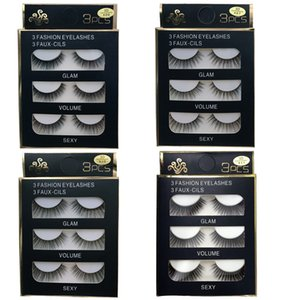 5Pairs 3D Mink Hair False Eyelashes Natural Thick Long Eye Lashes Wispy Makeup Beauty Extension Tools