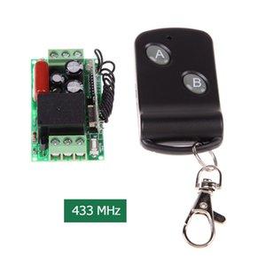 Universale nuovo arrivo 220V canale 433 MHz Small Single Remote Control Switch con 2 Due doppio pulsante di controllo remoto