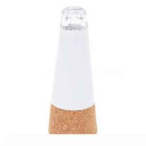 Cork Shaped Rechargeable USB LED Night Light Bottle Multicolor Cork Plug Wine Bottle Christmas lights 2PCS