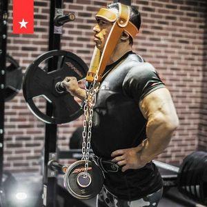 Flyspo Head Neck Training Head Harness Body Strengh Exercise Strap Adjustable Neck Power Training Gym Fitness Weight Bearing cap ri6I#