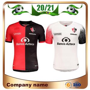 2020 México Club Atlas camisetas de fútbol 20/21 Atlas Home Red J.BARRAZA L.CABALLERO R.MARQUEZ la camisa del fútbol uniforme ausente del fútbol amarillo
