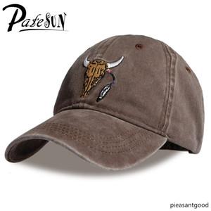 PATESUN 2018 Brand Baseball Caps Customized Designer 6 Panel Dad Hat Baseball Hat Travis Scotts rodeo Cap snapback caps