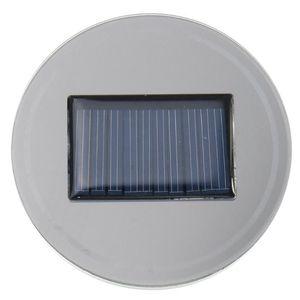 6.8cm Car Led Solar Cup Holder Car Cup Bottle Holder Mat Pad LED Light Trim For All Models Interior