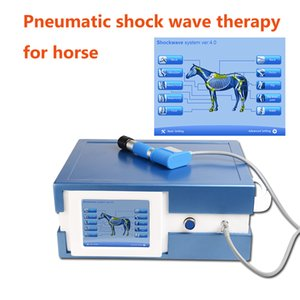 New shock wave 8 bars pain removal enhance muscle relaxation Patella tip syndrome shockwave therapy machine for Horse treatment