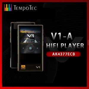 محمول السمعية الفيديو الاختلافات MP3 اللاعبين TempoTec V1-A HIFI PCMDSD 256 لاعب دعم بلوتوث LDAC AAC APTX INOUT USB DAC ل