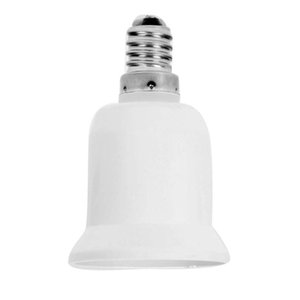 E14 E27 Adapter weiß Conversion Sockel CFL Glühbirne Lampe Adapter-Material Sockel Glühlampe Adapter Lampenfassung heißen Verkauf