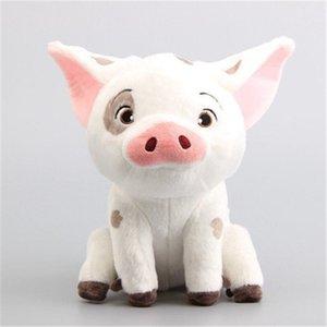 Articoli da regalo peluche 20 centimetri fumetto per bambini film Moana Pet Pig Pua animali farciti Y200723