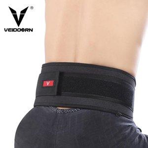 Veidoorn Peso de la aptitud levantamiento de Apoyo a la cintura cinturón de cintura Trainer soporte lumbar para el entrenamiento de levantamiento de pesas Gimnasio