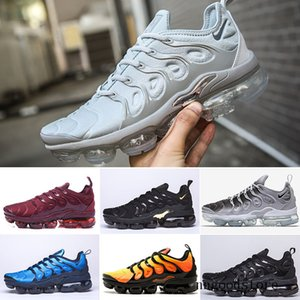 2019 TN Plus Game Royal orange USA Tangerine mint Grape Volt Hyper Violet trainers Sports Sneaker Mens women running shoese ERT5H