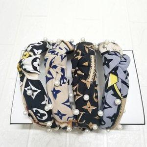 Мода руководитель группы Girls Vintage Вязание Twisted Knotted Письмо оголовье Широких ленты для волос головы полос завода оптовых цен