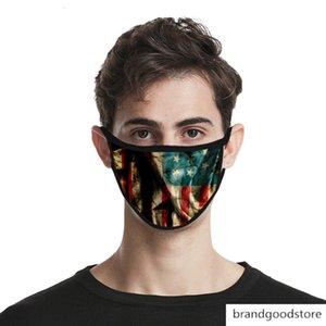 Amerikanische Flagge 3D winddicht staubdicht Nebel Dunst gewaschen Wasserbeständigkeit Baumwolltuch ausreichend
