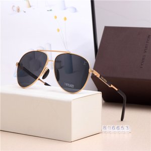 وصول جديد السعر مصنع النظارات الشمسية مصمم النظارات إطارات الرجال البيضاوي نظارات الشمس نظارات الكلاسيكية إطار كبير Oculos مع حزمة