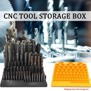 Portable Multifunctional Milling Cutter Reamer Drill Bit Storage Box Tool Organizer box drill bits Organizer