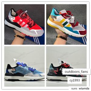 brang 2019 Nite Jogger Boost men and women Running Shoes Fashion Retro CG7088 3M Popcorn Designer Sports Shoes size 36-45