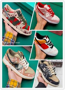 xshfbcl 2020 New Fashion SB Zoom Dunk Low PRO Freddy Krueger Running Shoes For Men Women Dunks Skateboarding Casual Sports Sneakers