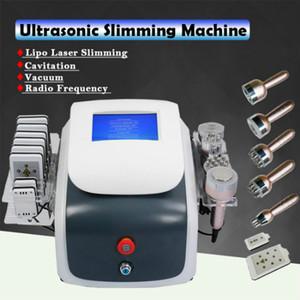 New Model Ultrasonic Cavitation Vacuum Radio Frequency Lipo Laser Slimming Machine Cavitation Weight Loss Slimming Beauty Equipment