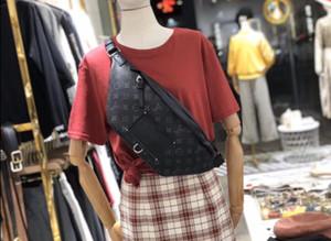 TT Mens Designer cintura Bag Ladies Luxury Fannypack sacos de peito Designer Handbag Luxo Moda Circular Fanny crossbody 20062204T topo Pacote