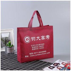 Produktion rot Nonwoven laminiert Mode produktion rot Nonwoven Bag modische Nonwoven Vlieslaminatbeutel