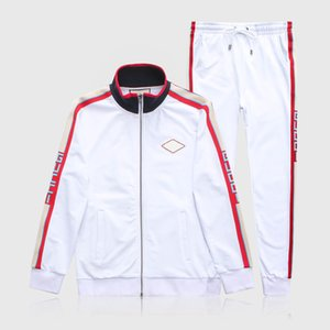 Fall 2020 men and women full zip fashion casual suit for men and women with the same paragraph and pants hoodies