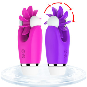 Female Oral Licking Clitoris Stimulator Silicone Tongue Vibrator Massager G Spot Vibrators for Women,Adult Sex Toys for Woman Y200616