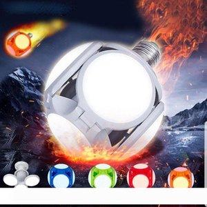 Lampada della lampadina LED pieghevole 120LED Super Bright Lights Indoor 40W E27 LED Calcio lampada del UFO CA 85-265V LED