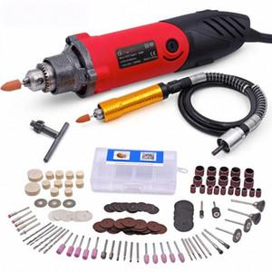 GOXAWEE 220 V Mini électrique Grinder Drill Die Grinder 6 Position vitesse variable Dremel Gravure Outils rotatifs Affûteuse DXUp #