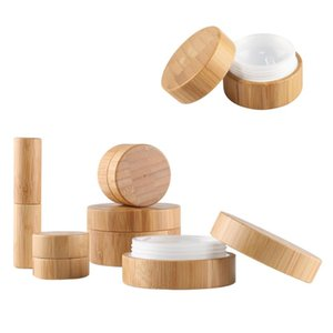5g 10g 30g 50g Empty Natural Bamboo Lipstick Tube Cosmetic Lip Containers Jars Travel Eye Cream Body Hand Cream Pots
