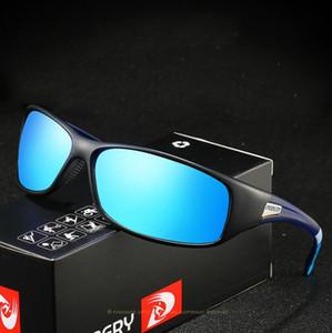 DUBERY Винтажные солнечные очки поляризованном Мужские Солнцезащитные очки для мужчин вождения черный очки óculos Мужской 9 цветов Модель d258