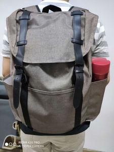 새로운 패션 브랜드 디자이너 배낭 고급 야외 여행 심플한 디자인의 책가방 남자와 여자 책가방