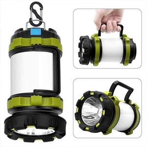 LED Kamp Işık USB Şarj edilebilir Dim Spotlight İş Işık Su geçirmez Searchlight Acil Meşalesi