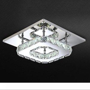 Place LED Lustre en cristal clair pour Aisle Porche Corridor Escalier WTH Ampoule LED 12 Watt Garantie 100%