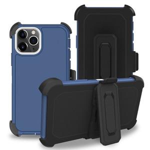 Super Defender Clip Stand Case para LG Stylo 6 K51 Aristo 5 Tributo Monarca Galaxy A01 A21 A11 Moto G Stylus Rápido E7