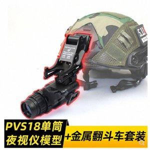 PVS-18 único modelo tubo noite visão + melhoradas PVS-14 de metal basculante D87U #