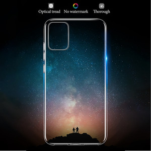 For Samsung Galaxy A51 Case cover Ultra-thin Transparent TPU Silicone Phone Case For Samsung Galaxy A51 A71 A 51 71 2019 Cover